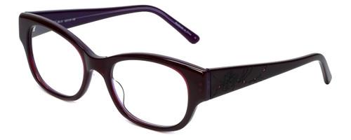 Judith Leiber Designer Eyeglasses JL3011-07 in Amethyst 52mm :: Progressive