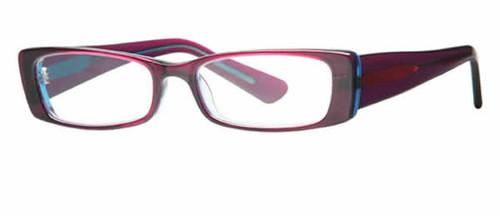 Scojo Designer Eyeglasses Saratoga in Cotton Candy :: Custom Left & Right Lens
