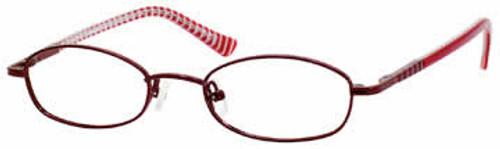 Seventeen Designer Eyeglasses 5301 in Burgundy :: Custom Left & Right Lens