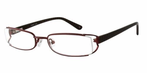 Seventeen Designer Eyeglasses 5308 in Brown :: Custom Left & Right Lens