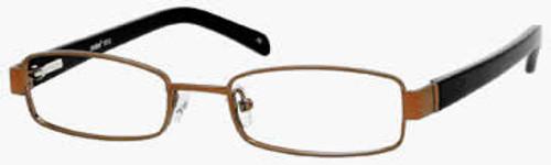 Seventeen Designer Eyeglasses 5312 in Brown :: Custom Left & Right Lens