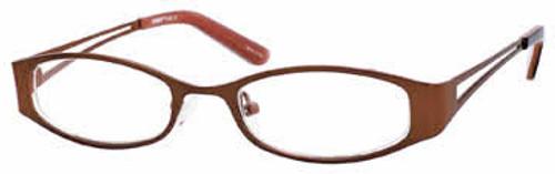Seventeen Designer Eyeglasses 5320 in Brown :: Custom Left & Right Lens