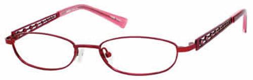 Seventeen Designer Eyeglasses 5334 in Burgundy :: Custom Left & Right Lens