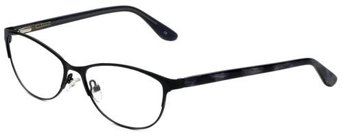 Corinne McCormack Designer Eyeglasses Park-Slope-BLK in Black 53mm :: Custom Left & Right Lens