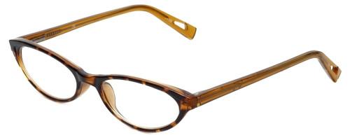 Corinne McCormack Designer Eyeglasses Roseanne in Amber  50mm :: Rx Single Vision