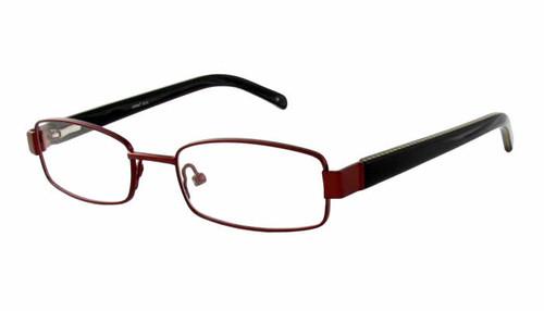 Seventeen Designer Eyeglasses 5912 in Brown :: Custom Left & Right Lens
