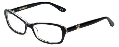 Corinne McCormack Designer Eyeglasses Bleecker-BLK in Black 53mm :: Rx Bi-Focal