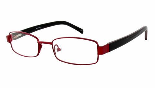 Seventeen Designer Eyeglasses 5912 in Burgundy :: Custom Left & Right Lens