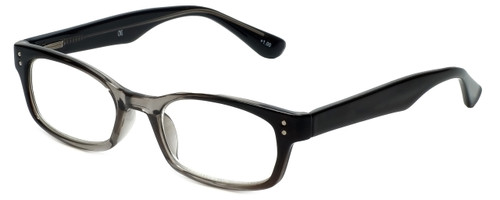 Corinne McCormack Designer Reading Glasses Channing in Black-Grey 47mm