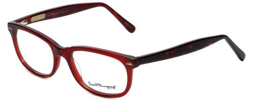 Ernest Hemingway Designer Eyeglasses H4673 in Burgundy/Tortoise 52mm :: Rx Bi-Focal