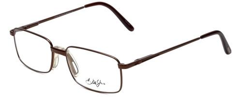 Dale Jr. Designer Eyeglasses DJ6808-SBR in Satin Brown 57mm :: Rx Single Vision