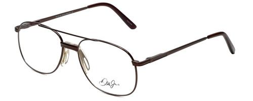 Dale Jr. Designer Eyeglasses DJ6807-SBR-57 in Satin Brown 57mm :: Rx Single Vision