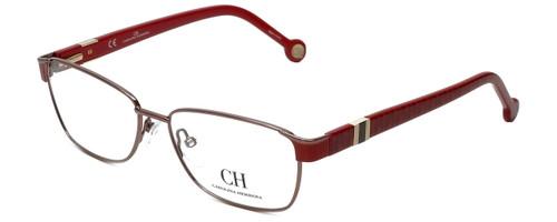 Carolina Herrera Designer Eyeglasses VHE063-08P2 in Red 55mm :: Custom Left & Right Lens