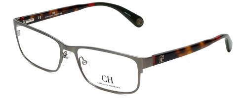 Carolina Herrera Designer Eyeglasses VHE074-0H41 in Gunmetal Tortoise 56mm :: Custom Left & Right Lens
