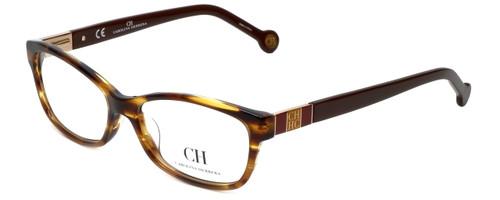 Carolina Herrera Designer Eyeglasses VHE615-0794 in Havana 53mm :: Custom Left & Right Lens