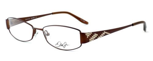 Dale Earnhardt, Jr. Designer Reading Glasses DJ6742 in Brown 53mm