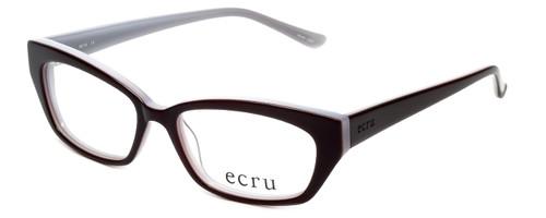 Ecru Designer Eyeglasses Bowie-003 in Purple 50mm :: Custom Left & Right Lens