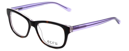Ecru Designer Reading Glasses Morrison-049 in Tortoise-Purple 51mm