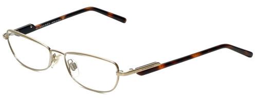 Burberry Designer Eyeglasses B1009-1002 in Gold 51mm :: Custom Left & Right Lens