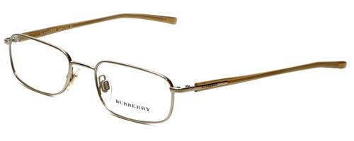 Burberry Designer Eyeglasses B1007-1002 in Gold 50mm :: Progressive