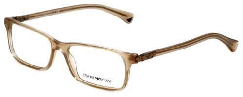 Emporio Armani Designer Eyeglasses EA3005-5084 in Opal Brown Pearl 53mm :: Rx Single Vision