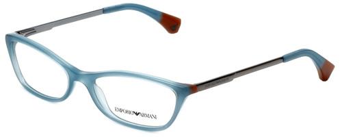 Emporio Armani Designer Eyeglasses EA3014-5127-54 in Opal Green Brown 54mm :: Rx Single Vision