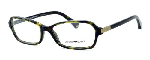 Emporio Armani Designer Eyeglasses EA3009-5026-52 in Dark Havana 52mm :: Rx Bi-Focal