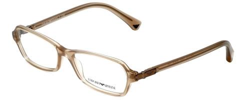 Emporio Armani Designer Eyeglasses EA3009-5084-52 in Brown Pearl 52mm :: Rx Bi-Focal