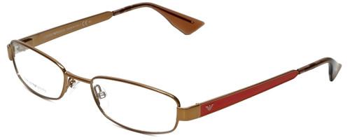 Emporio Armani Designer Eyeglasses EA9772-O9L in Brown Brass Lobster 50mm :: Rx Bi-Focal