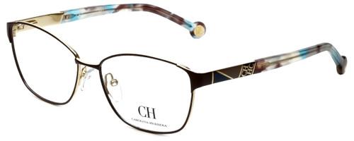 Carolina Herrera Designer Eyeglasses VHE109K-0367 in Brown 55mm :: Custom Left & Right Lens