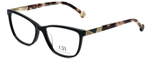 Carolina Herrera Designer Eyeglasses VHE761K-700Y in Black 53mm :: Custom Left & Right Lens
