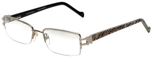 Charriol Designer Eyeglasses PC7177-C2 in Silver Zebra 52mm :: Rx Bi-Focal