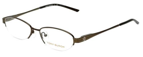 Tory Burch Designer Eyeglasses TY1002-182 in Olive 49mm :: Rx Single Vision
