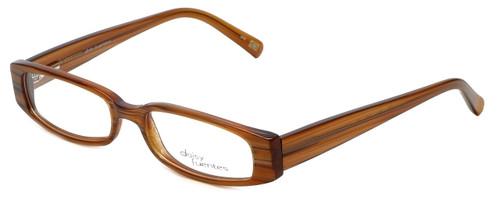 Daisy Fuentes Designer Reading Glasses DFMIA-247 in Brown Pearl 49mm