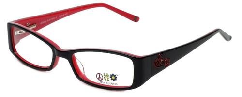 Daisy Fuentes Designer Reading Glasses DFPEACE417-021 in Black 50mm
