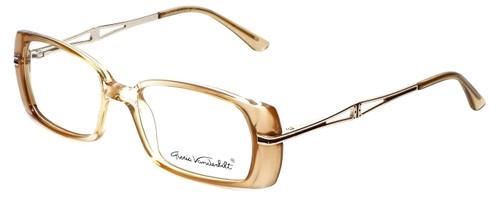 Gloria Vanderbilt Designer Eyeglasses GV772-097 in Tan 52mm :: Progressive