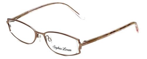 Sophia Loren Designer Reading Glasses SL-M152-029 in Sienna 49mm