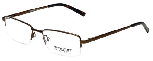 Outdoor Life Designer Eyeglasses OL825M-183 in Brown 53mm :: Progressive