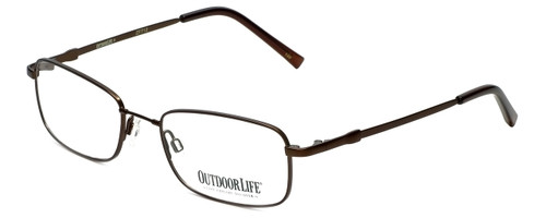 Outdoor Life Designer Eyeglasses OLZF712-183 in Brown 52mm :: Rx Bi-Focal