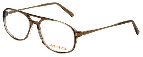 Stetson Designer Eyeglasses ST225-151 in Brown 58mm :: Custom Left & Right Lens