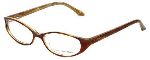 Via Spiga Designer Eyeglasses Striano-620 in Blonde Tort 52mm :: Rx Single Vision
