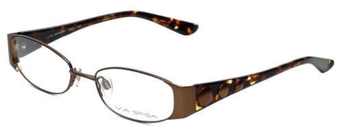 Via Spiga Designer Reading Glasses Adria-560 in Brown 51mm