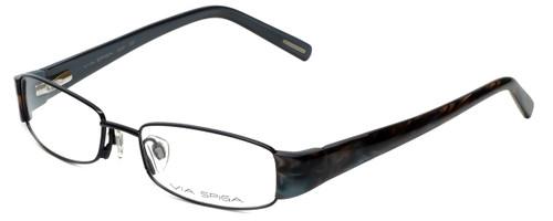 Via Spiga Designer Reading Glasses Lauria-520 in Black 51mm