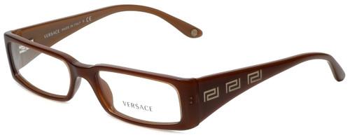 Versace Designer Eyeglasses 3105-742 in Brown 51mm :: Progressive
