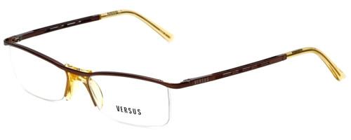 Versus by Versace Designer Eyeglasses 7064-1045 in Brown 51mm :: Rx Single Vision