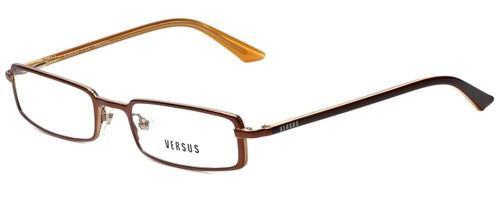 Versus by Versace Designer Eyeglasses 7068-1203 in Brown 49mm :: Rx Single Vision