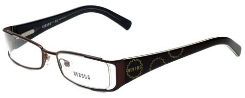 Versus by Versace Designer Eyeglasses 7071-1006 in Dark Brown 49mm :: Rx Single Vision