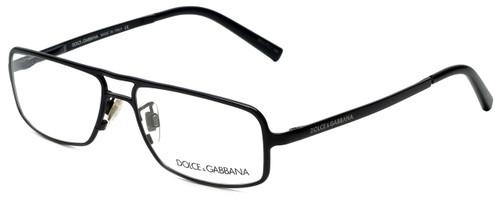 Dolce & Gabbana Designer Eyeglasses DG1122-01 in Black 52mm :: Custom Left & Right Lens