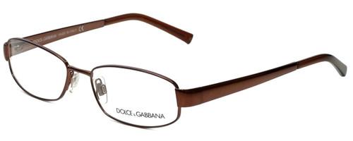 Dolce & Gabbana Designer Eyeglasses DG1131-119 in Brown 52mm :: Custom Left & Right Lens