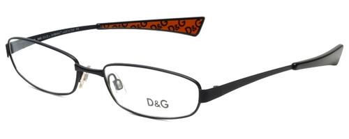 Dolce & Gabbana Designer Eyeglasses DG4105-BR in Black 51mm :: Custom Left & Right Lens
